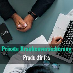 private krankenversicherung produktinfos